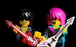 LEGO Characters - Rock banda (id: 17690) vászonkép