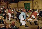 Henri de Toulouse Lautrec: Parasztlakodalom (id: 10091) vászonkép óra