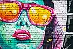 Utcai Pop Art (id: 16791) falikép keretezve