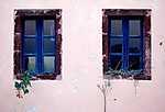 Ablakok Santorini, Görögország (id: 16991) többrészes vászonkép