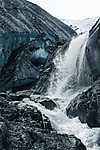 Vízesés, Valdez, USA (id: 17191) falikép keretezve
