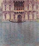 Contarini Palota, Velence (id: 3791) vászonkép óra