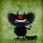 Orr-szívű macska (id: 5291) vászonkép
