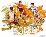Futball jelenet (id: 10392) tapéta