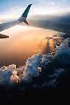 A felhők felett (id: 17292) többrészes vászonkép