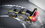 LEGO - Mercedes AMG (id: 17692) falikép keretezve