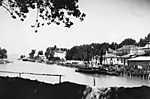 Siófok kikötő (1935) (id: 20192) tapéta
