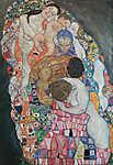 Gustav Klimt: Élet és halál (részlet I.) (id: 3592) tapéta