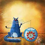 Horgászó macska (id: 5292)