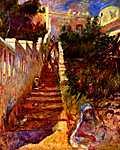 Mary Cassatt: Lépcsők Algírban (id: 1393)