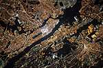 Manhattan, New York City, NASA felvétel (id: 17093)