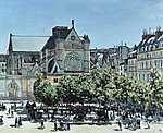Claude Monet: Saint Germain l'Auxerrois-templom (1867) (id: 2993) vászonkép