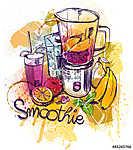 Smoothie reggeli (id: 10394) falikép keretezve