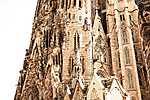 Sagrada Família, Barcelona (id: 19394) többrészes vászonkép