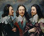 Anthony van Dyck : I. Károly portréja (id: 19494)