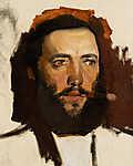 Mednyánszky László: Férfi portré /észlet) (id: 19995) poszter