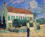 Fehér ház este (id: 395) poszter