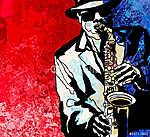 Paul Cézanne: Szaxofon lejátszó (id: 5095)