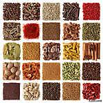 Az indiai fűszerek gyűjteménye (id: 10696) vászonkép