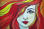 Vöröshajú lány (id: 15296) poszter