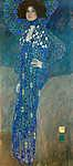 Gustav Klimt: Emilie Flöge portréja (id: 19796) poszter