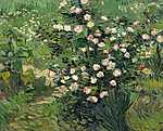 Berthe Morisot: Rózsák (id: 2896) vászonkép óra