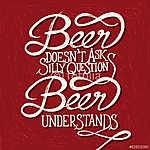 BEER UNDERSTANDS - kifejezés - piros (id: 6896)