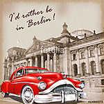 Berlin vintage poster. (id: 19198)