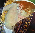 Gustav Klimt: Danae (színverzió 3.) (id: 19798) poszter