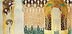 Gustav Klimt: Beethoven fríz (id: 19799) poszter