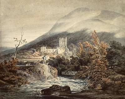 Llanthony Apátság, Monmouthshire, William Turner