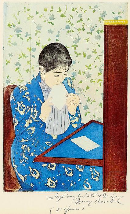 A levél, Mary Cassatt