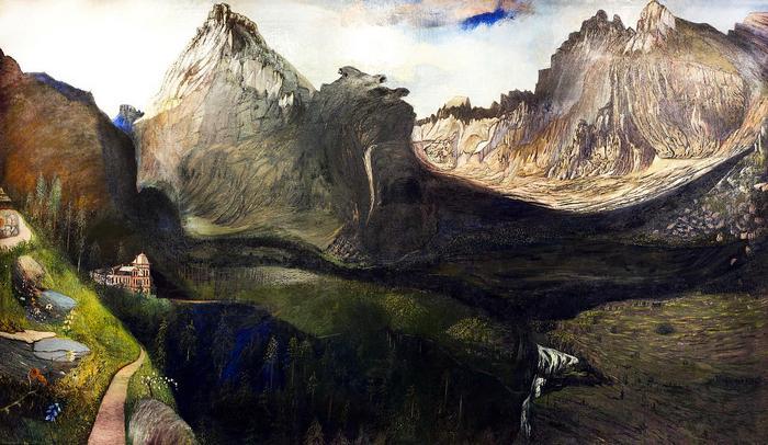 A Nagy Tarpatak-völgye a Tátrában (1904-1905), Csontváry Kosztka Tivadar