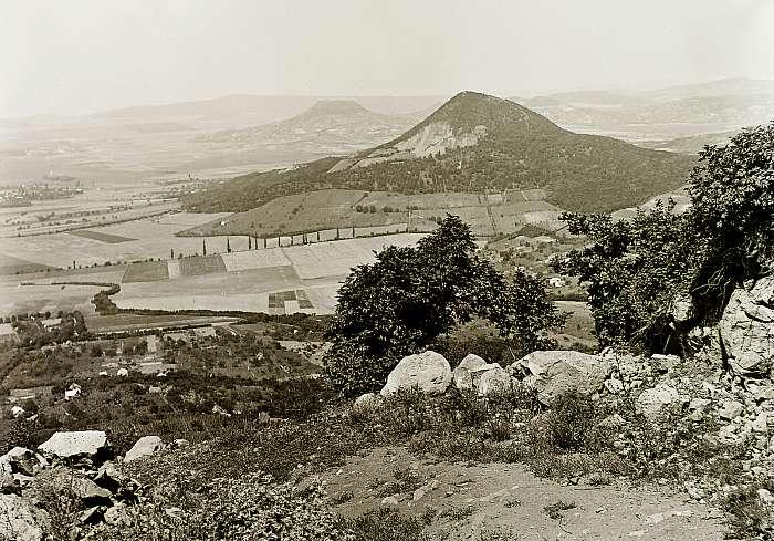 Kilátás a Badacsonyról 1934, FORTEPAN