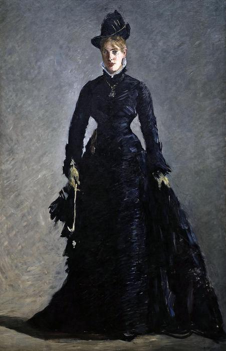 A párizsi nő (La Parisienne), Edouard Manet