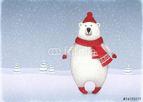 A medve akvarell ábrázolása, Premium Kollekció