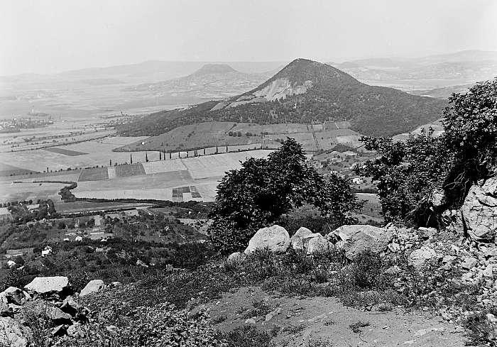 Kilátás a Badacsonyról 1934 (színverzió 1), FORTEPAN