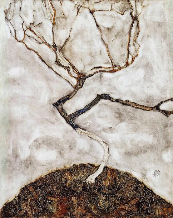 Facsemete késő ősszel, Egon Schiele