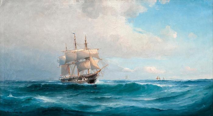 Háromárbocos vitorlás, Ludvig Richarde