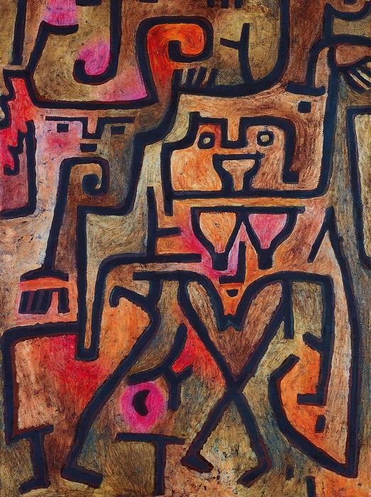 Erdei boszorkányok, Paul Klee