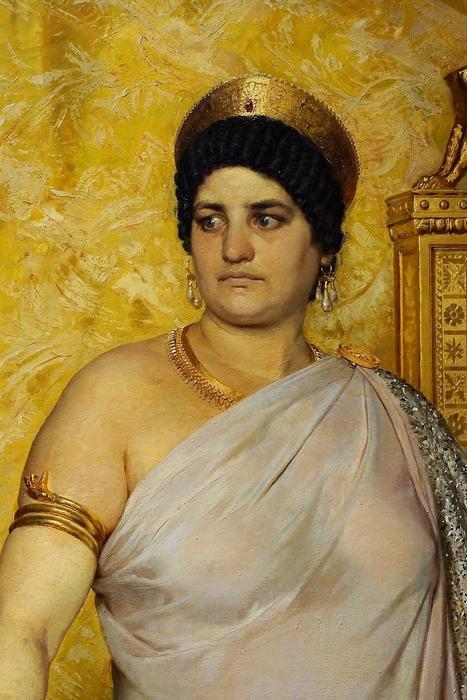 Valeria Messalina (részlet) - színverzió 1., Peder Severin Kroyer