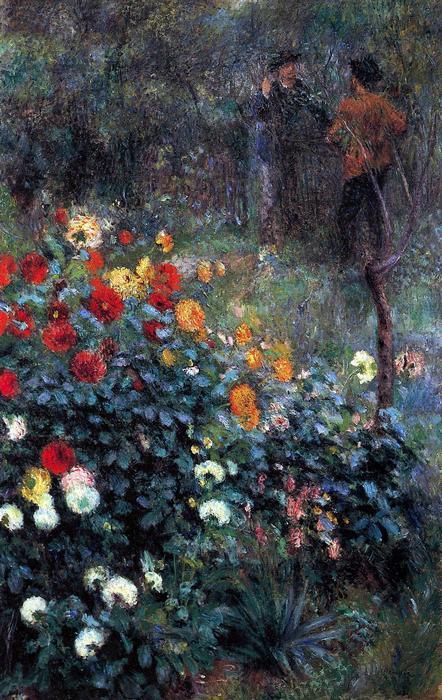 Kert a Cortot utcában, Pierre Auguste Renoir