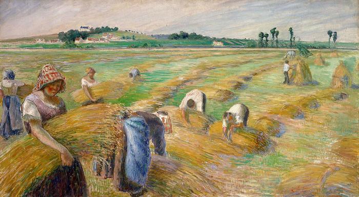 Aratás (1882), Camille Pissarro
