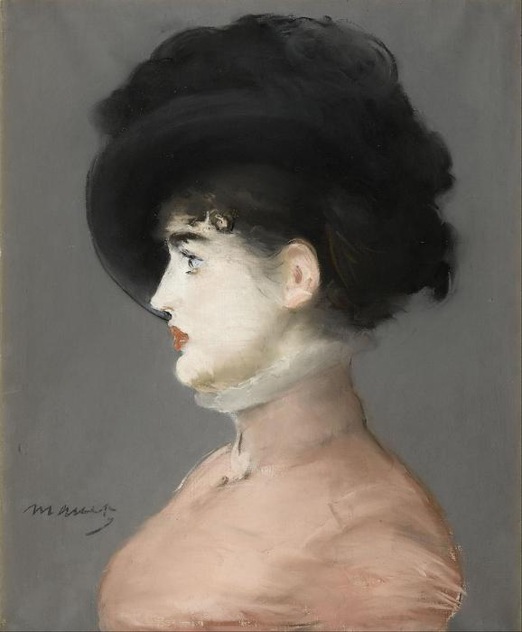 Irma Brunner arcképe, Edouard Manet
