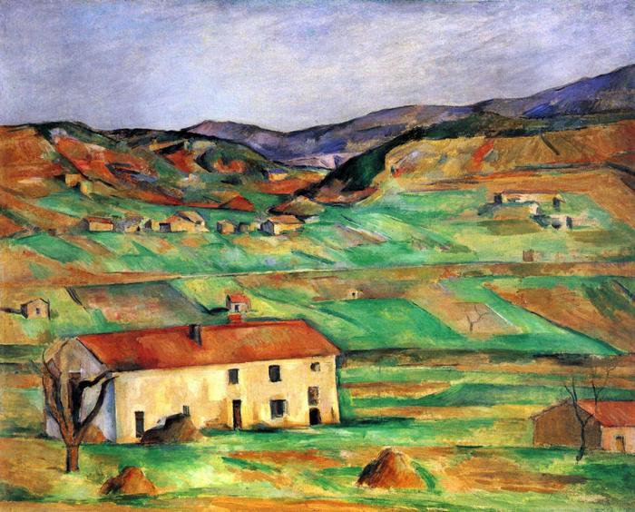 Gardanne környéke, 1885-1886, Paul Cézanne
