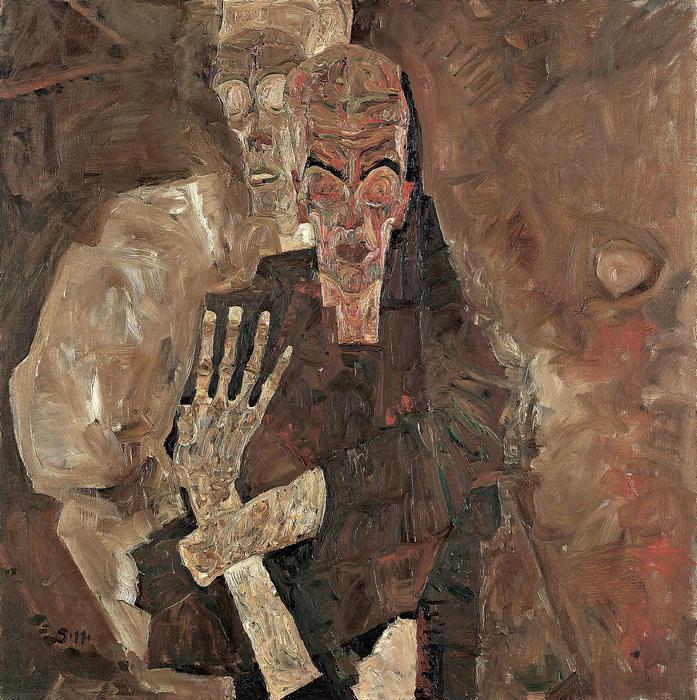 Halál és az ember, Egon Schiele