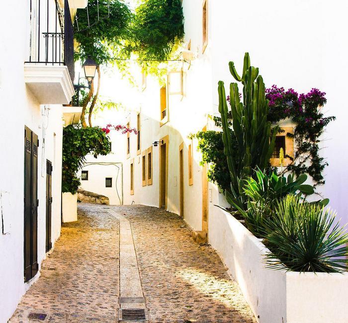 Utcarészlet, Eivissa, Ibiza, Partner Kollekció