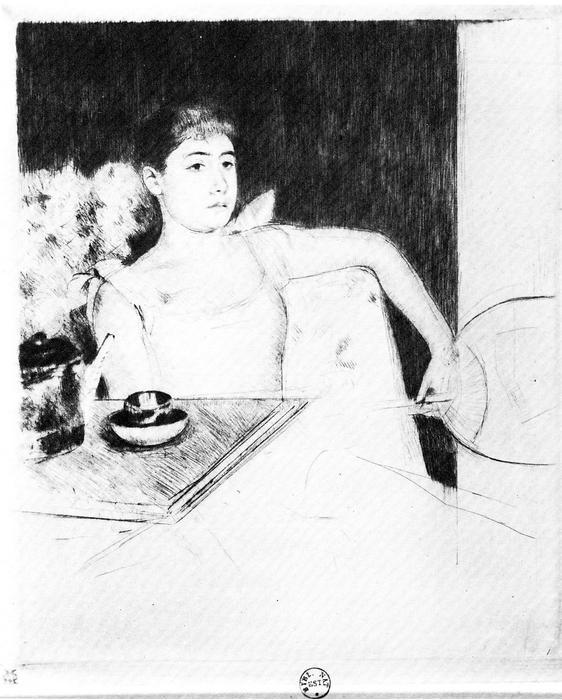 Teázás, Mary Cassatt