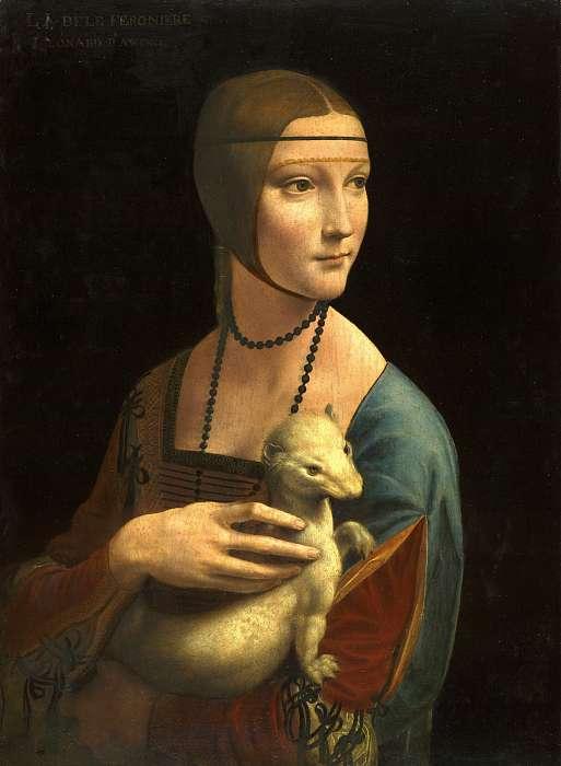 Hölgy hermelinnel , Leonardo da Vinci