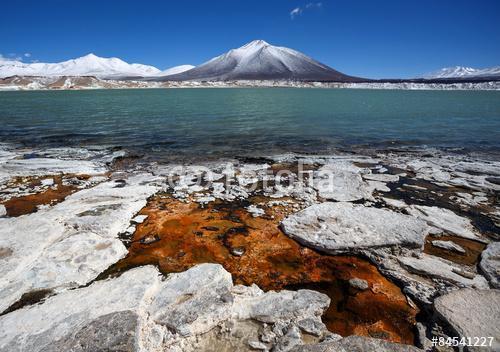 Zöld lagúna (Laguna Verde) Argentínában és Chilében, Premium Kollekció